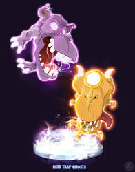Ghostbusters - Mini Traps by DanSchoening