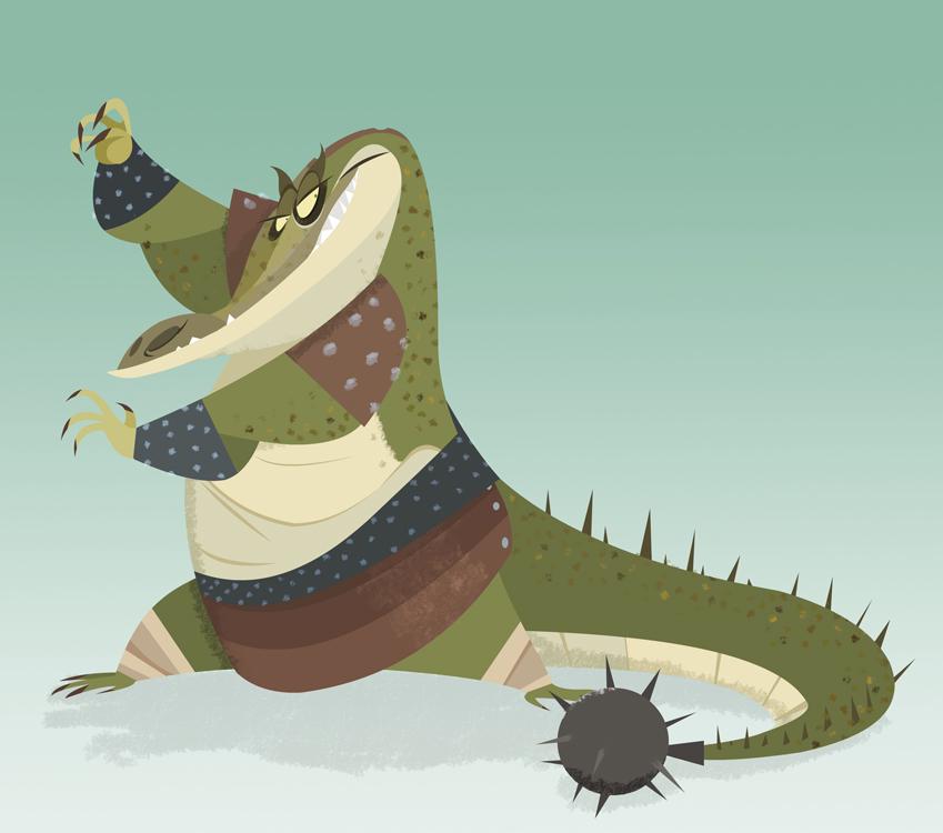 Crocodile Rock by DanSchoening