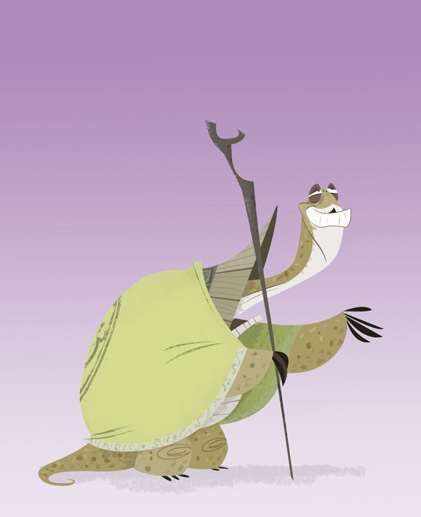 Ninja Turtle by DanSchoening