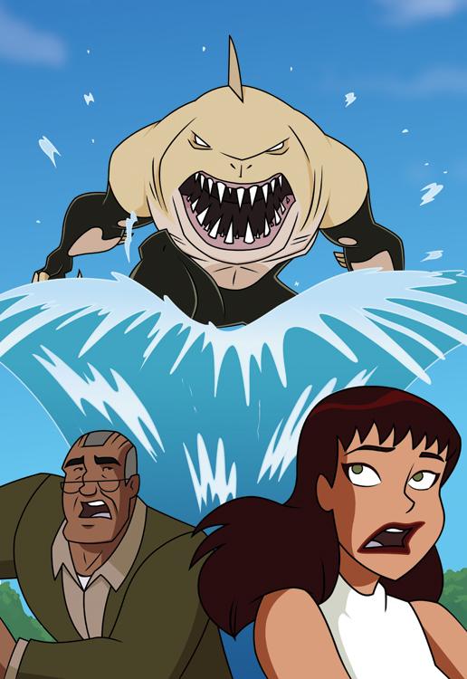 Shark Attack by DanSchoening