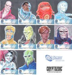 Cryptozoic DC 52 Sketch Cards