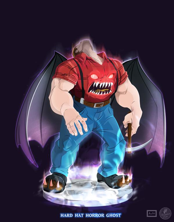 Ghostbusters - Hard Hat Horror by DanSchoening