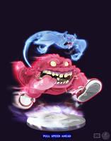 Ghostbusters - Pull Speed Ahead by DanSchoening