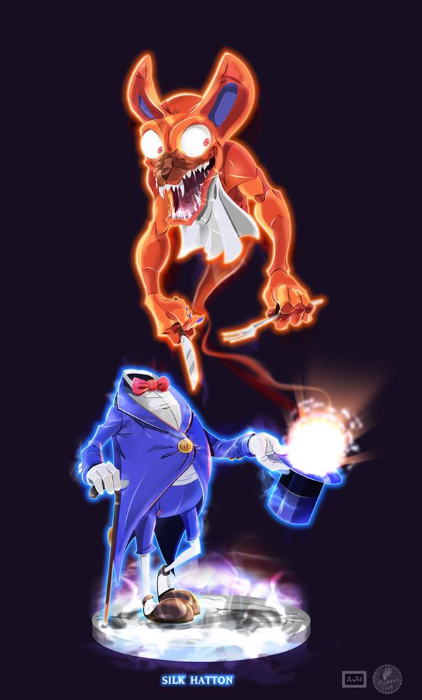 Ghostbusters - Silk Hatton by DanSchoening