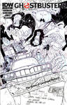 Ghostbusters #9 Sketch Cover - Spook Central