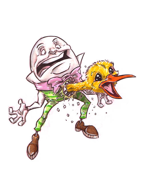 Hatchin' Humpty by DanSchoening