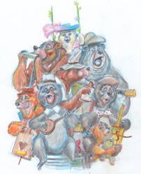 Bear Band Serenade