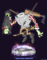 Cuatro Cursed Conquistador - Ghostbusters by DanSchoening