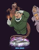 Uncle Horace  - Ghostbusters by DanSchoening