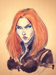 Black Widow by DanSchoening