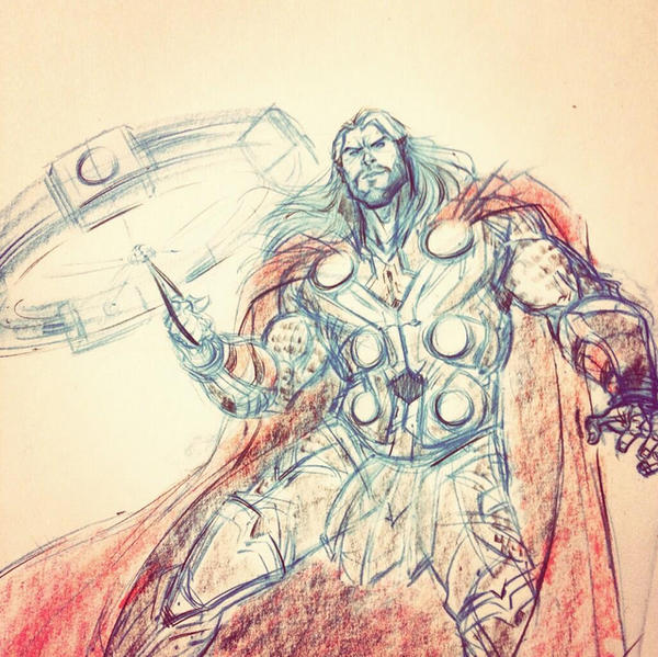 Thor by DanSchoening
