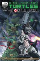 Teenage Mutant Ninja Turtles Ghostbusters #1 by DanSchoening