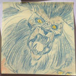 Halloween Post It Day 1 by DanSchoening