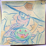 Halloween Post It Day 3 by DanSchoening