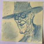 Halloween Post It Day 4 by DanSchoening