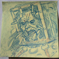 Halloween Post It Day 27 by DanSchoening
