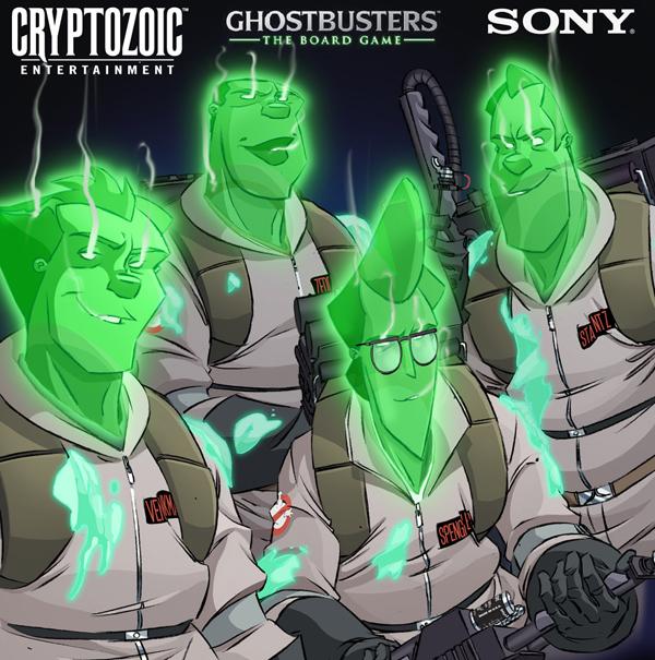 Spectral Ghostbusters by DanSchoening