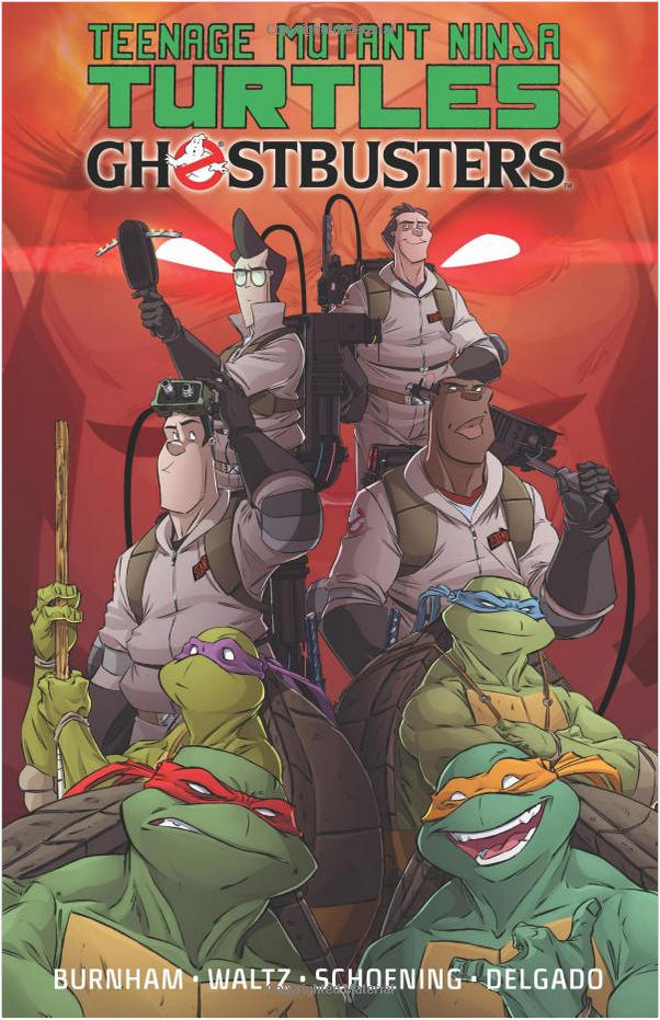 TMNT Ghostbusters Trade Paperback Cover