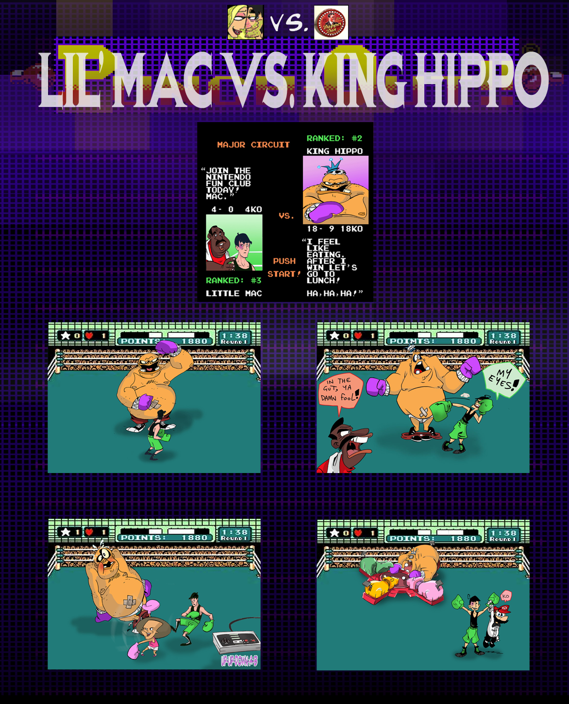 Punch Out - Mac Vs Hippo