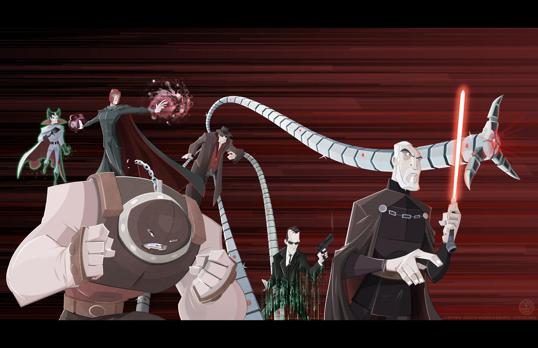Sinister 6 by DanSchoening