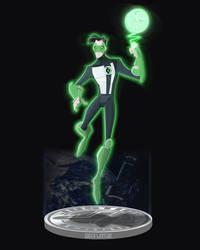 The Emerald Avenger by DanSchoening