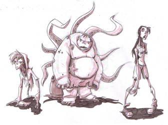 Zombies by DanSchoening