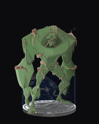 Swamp Thing by DanSchoening