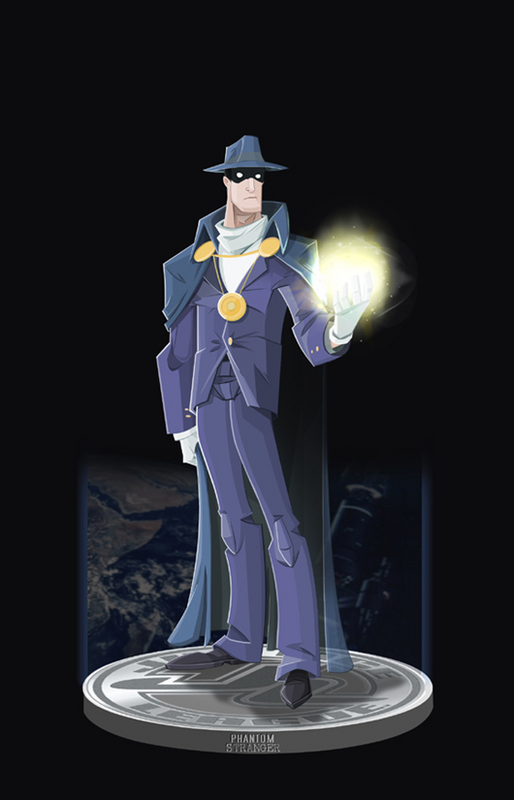 The Phantom Stranger by DanSchoening on DeviantArt
