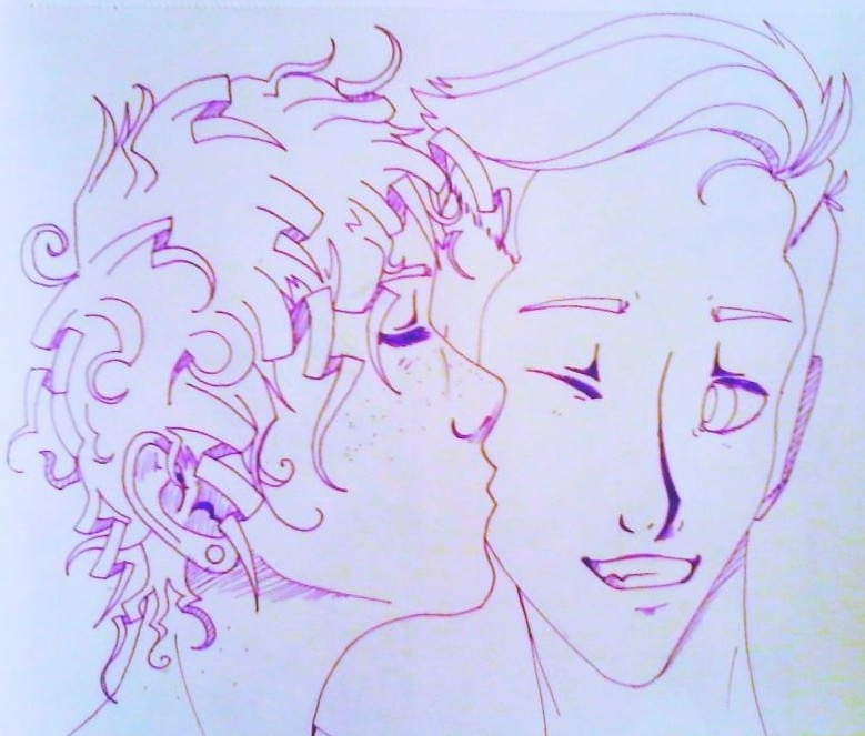 THIS IS HOW I DRAW CURLY HAIR, GUYS :ArtTrade: by ...