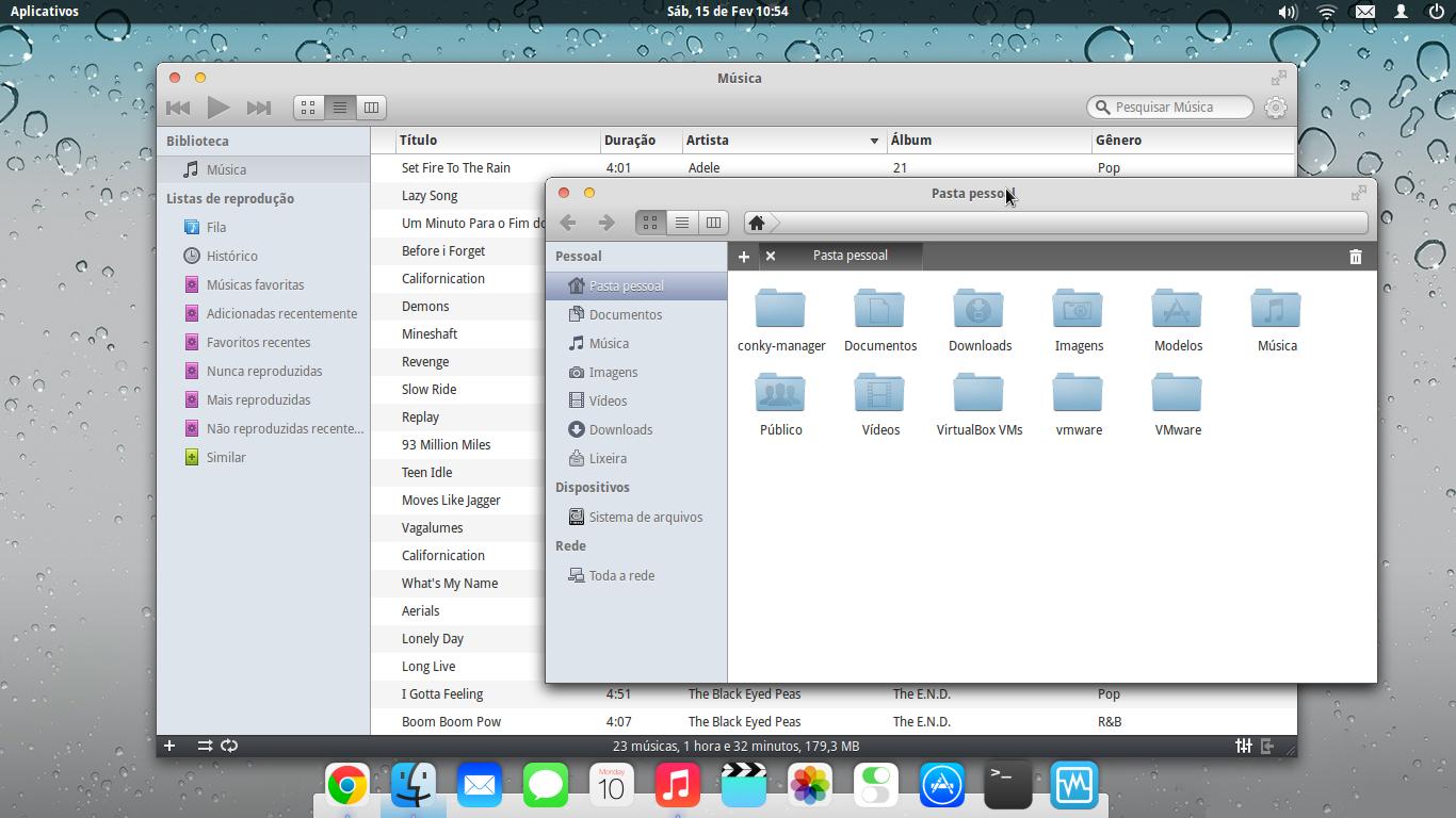 ieOS Style Desktop by Rafael5842