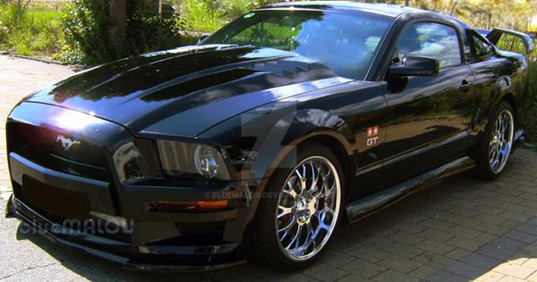 Mustang car by blueMALOU