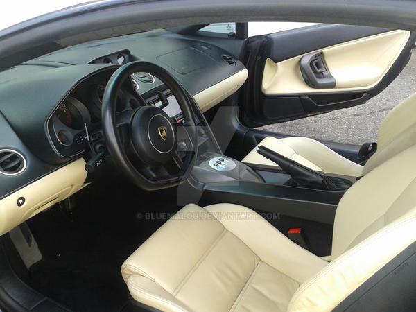 White Lamborghini  - 1