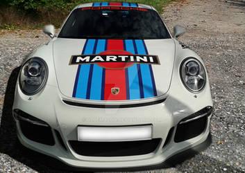 911 Porsche  GT3 by blueMALOU