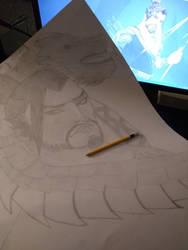 Overwatch:Hero Hanzo My drawing for fun
