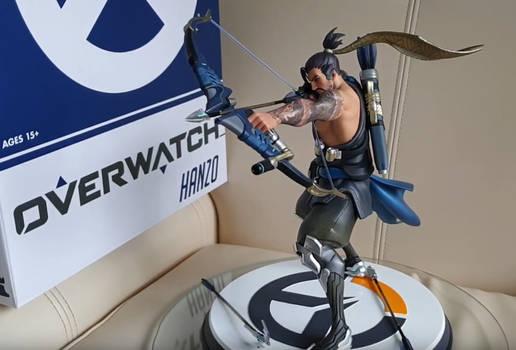 Overwatch:Hanzo Huge Statue