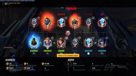 Overwatch: Reaper 4 Golden Medals