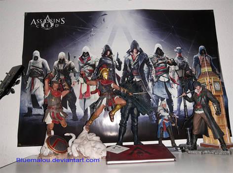 Assassins Creed  Statues