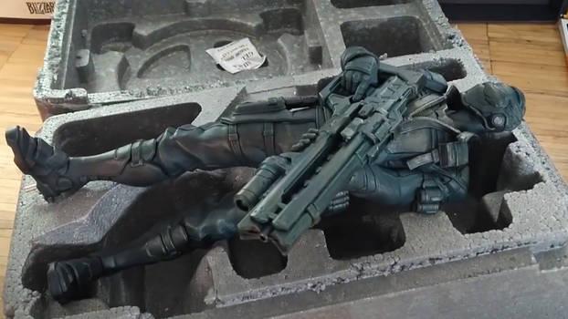 Overwatch Soldier 76 Statue