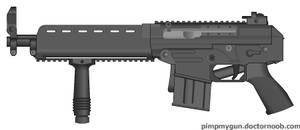 SR-61 Bullpup Assault Rifle by RoboLoco2 on DeviantArt