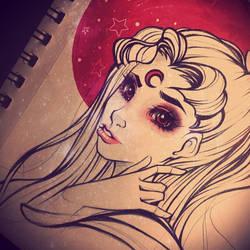 Usagi Red Moon Sailor Scout