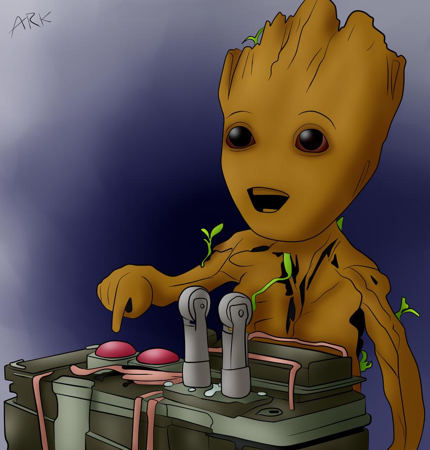 Groot by Ark85
