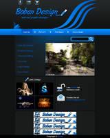 Web Templatev2 by Boban031