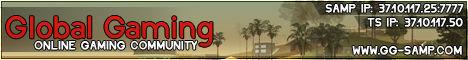Global Gaming SAMP Banner
