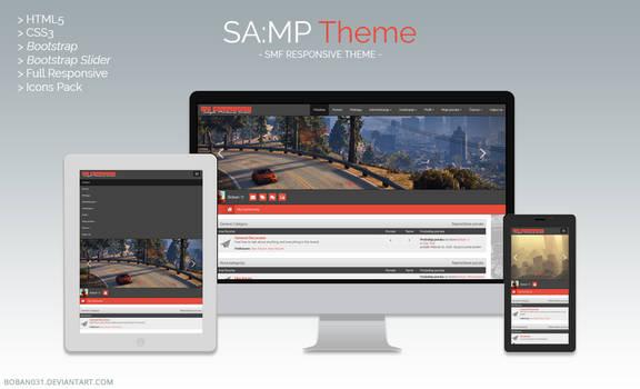 SA:MP SMF Responsive Theme