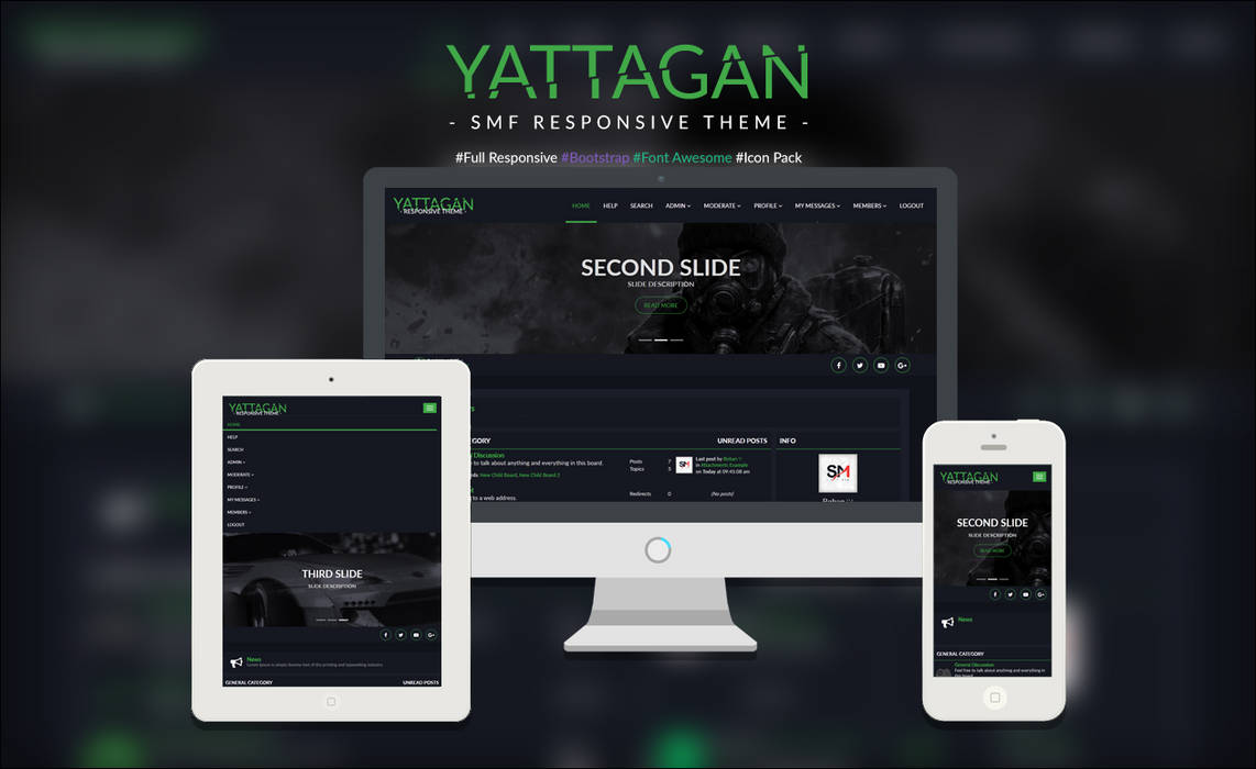 Yattagan Theme [Responsive 2.0] by Boban031