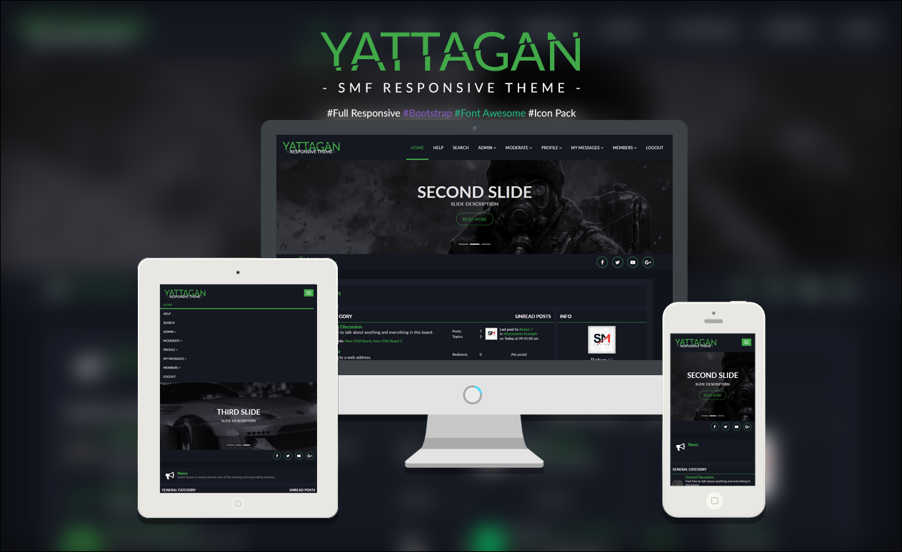Yattagan Theme [Responsive 2.0]