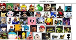 My Smash Bros. Brawl Roster