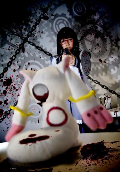 Akemi Homura - Killing Spree by Rein-Pudding
