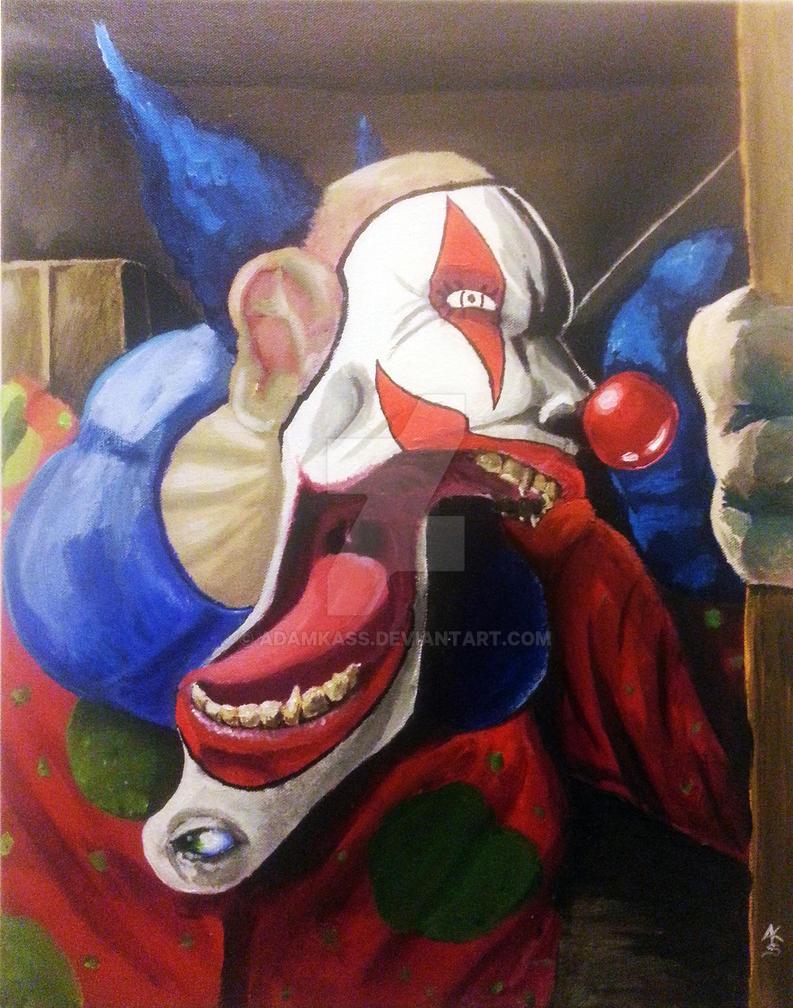 Peaches the Clown by AdamKass