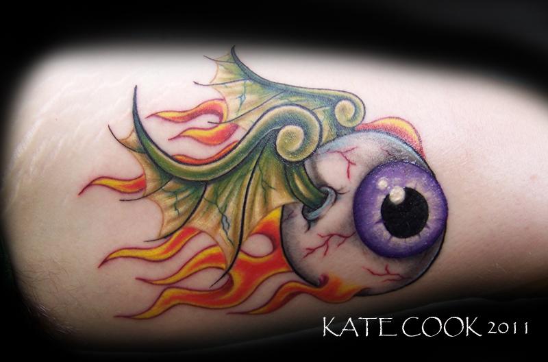 Von Dutch Flying Eyeball Tattoo Designs